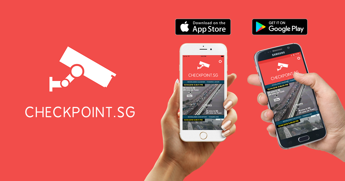 CHECKPOINT SG - Live Traffic Cameras at Woodlands